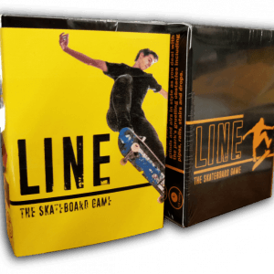 How to play Line Skateboard card game